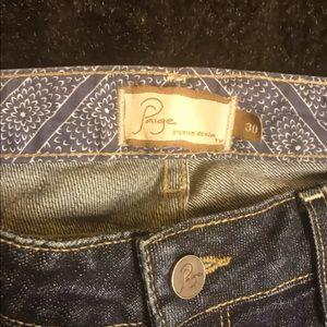 Paige Jeans Capri/ ankle jeans size 30